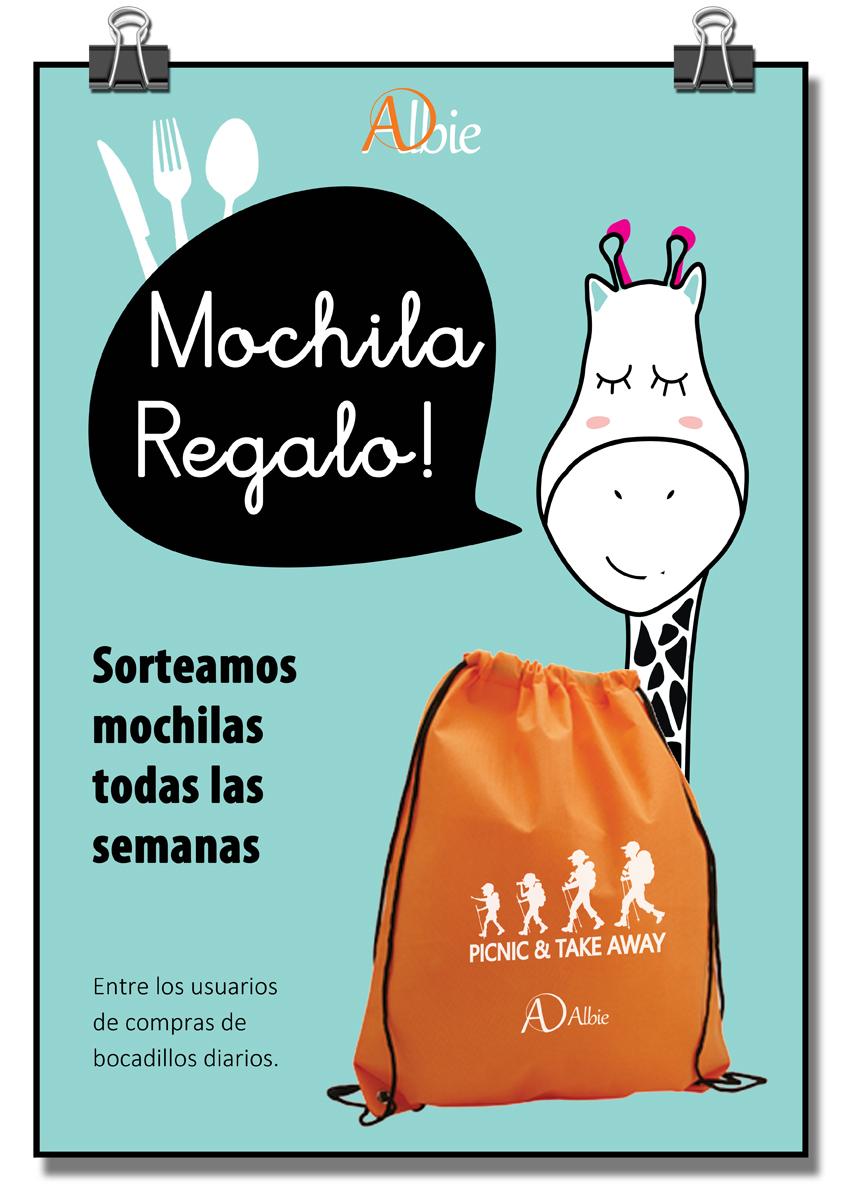 Mochila Regalo!!!