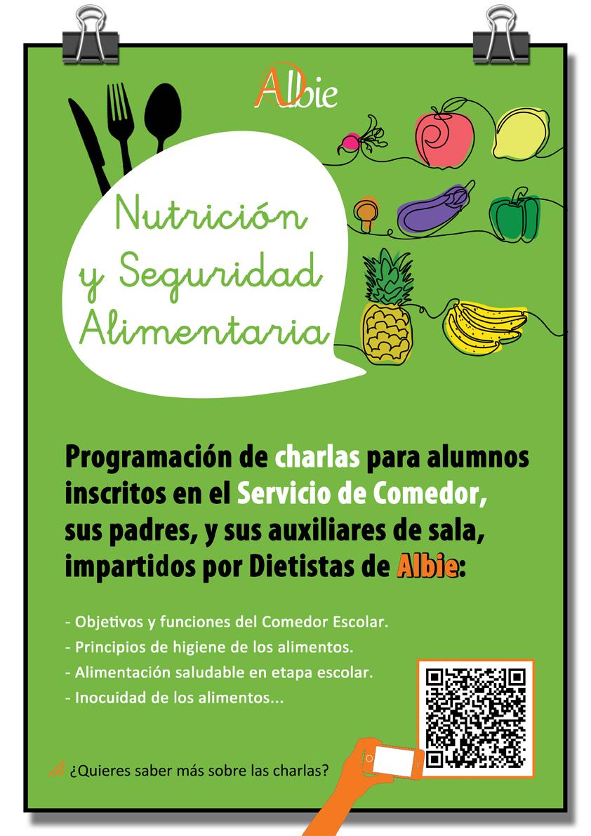 """Taller escolar """"Dietética y Nutrición"""""""